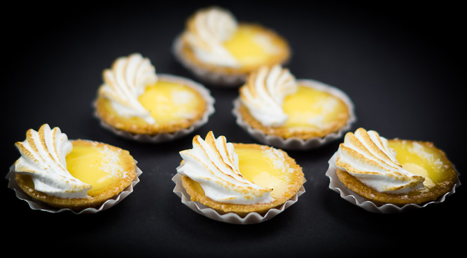 Passion Fruit Tartelettes